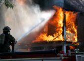 В селе Нагутское при пожаре в частном доме погиб человек