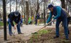 В Кисловодске начался двухмесячник субботников