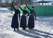 Мастерство казачек Ставрополья поразило жюри чемпионата по фланкировке шашкой