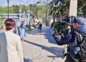 Съемки кинофильма «Нинель» начались в парке «Цветник» Пятигорска